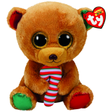 Bella the Brown Bear Christmas (medium)