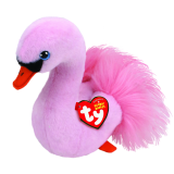 Odette the Pink Swan Regular Beanie Babies