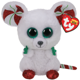 Christmas Chimney the Mouse Regular Beanie Boo