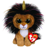 Ramsey the Lion with Horn Regular Beanie Boo