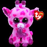 "Sweetums the Giraffe Valentine's Day regular"" Beanie Boo"""