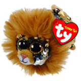 Regal the Tan Lion Sequin Teeny Tys