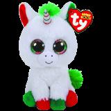 Candy Cane the Unicorn Christmas Regular Beanie Boo