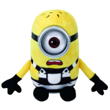 Despicable Me 3 Minion Carl Beanie Babies