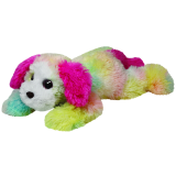 Classic TY Rainbow Yodeler Dog (medium)