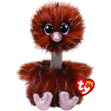 Orson the Brown Ostrich Regular Beanie Boo