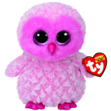 Twiggy the Pink Owl (medium)