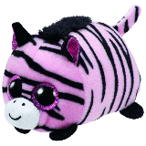 Pennie the Pink Zebra (Teeny Tys)