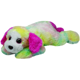 Classic TY Rainbow Yodels Dog (large)
