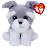 Harper the Grey Dog Beanie Babies