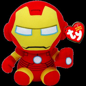 Marvel Iron Man Beanie Babies