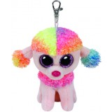 Rainbow the Multicoloured Poodle (clip)