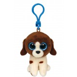 Muddles the Brown and White Dog  Clip Beanie Boo