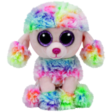 Rainbow the Multicoloured Poodle (regular)