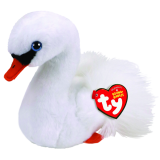 Gracie the White Swan Regular Beanie Babies