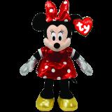 Minnie Mouse Sparkle Beanie Babies
