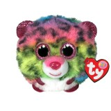 Dotty the Multicoloured Leopard Ty Puffies