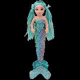 Azure the Mermaid Medium Sea Sequins Foil