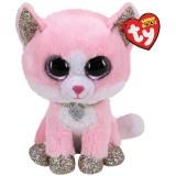 Fiona the Pink Cat Regular Beanie Boo