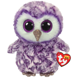 Moonlight the Purple Owl Medium Beanie Boo