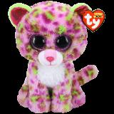 Lainey the Pink Leopard Medium Beanie Boo