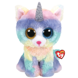 Heather the Cat with Horn Large Beanie Boo
