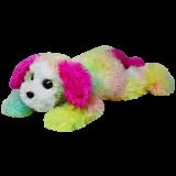 Classic TY Rainbow Yodeler Dog (medium)
