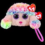 Rainbow the Multicoloured Poodle (wristlet)