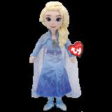 Frozen 2 Elsa Princess Medium Sparkle Beanie Babies