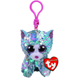 Whimsy the Blue Cat Clip Flippable