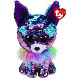 Yappy the Blue & Purple Chihuahua Medium Flippable