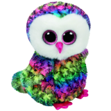 Owen the Multicoloured Owl (medium)