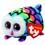 Hootie the Multicoloured Owl (Teeny Tys)