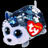 Slush the Blue Dog Sequin Teeny Tys