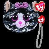 Kiki the Grey Cat Sequin Wristlet Ty Fashion