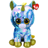 Dazzle the Blue Unicorn Large Flippable