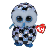 Topper the Checkered Owl Medium Flippables