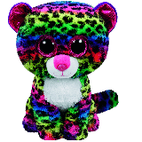 Dotty the Multi-Coloured Leopard (medium)
