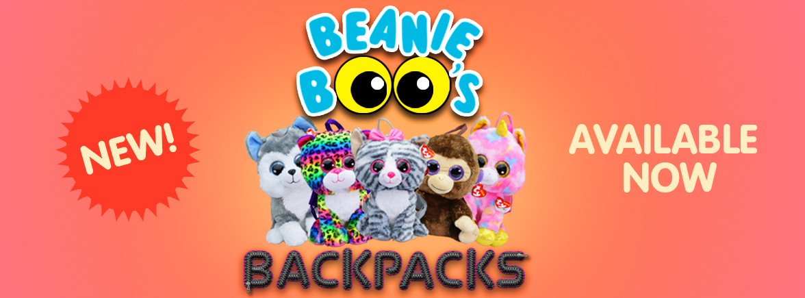 New Beanie Boos Backpacks