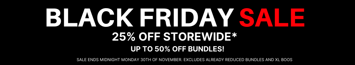 Black Friday Sale, 25% Off!