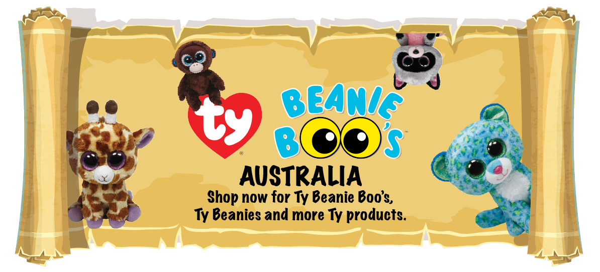 Beanie Boos. Authentic Beanie Boos from TY Toys; complete your family of Beanie Boos.